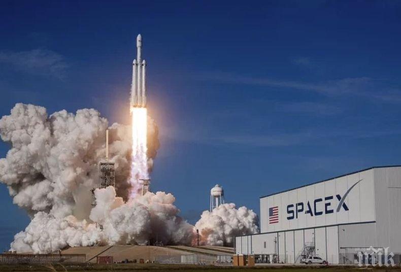 Space X изведе в орбита 64 сателита