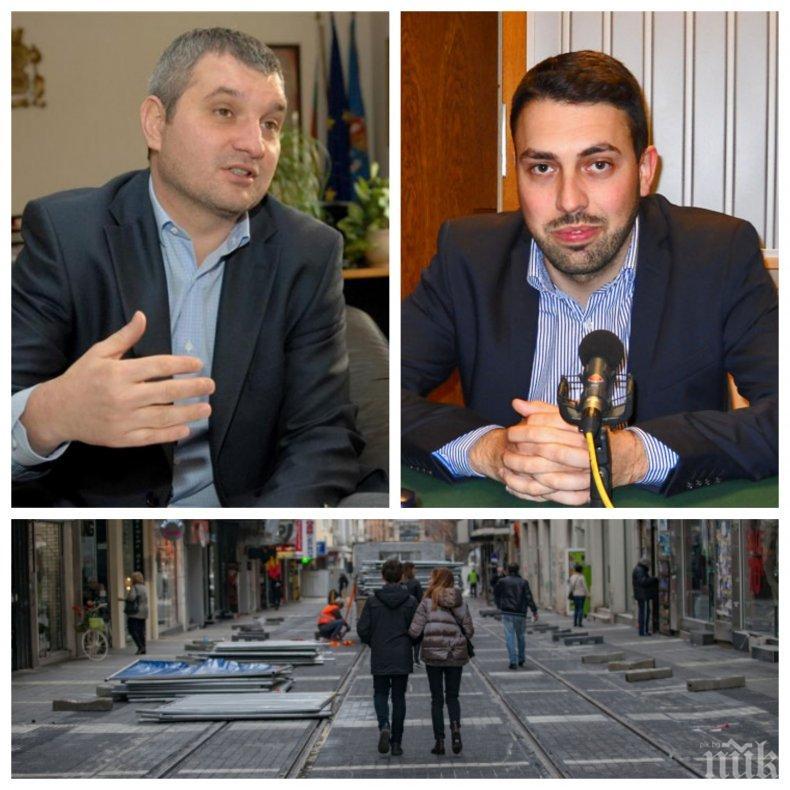 """ГОРЕЩА ТЕМА: Крусев не подал оставка заради ремонта на """"Графа"""". Председателят на Столичния общински съвет разкри истината (ОБНОВЕНА)"""
