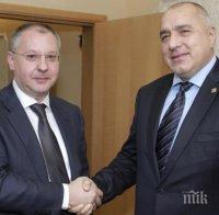 ПЪРВО В ПИК: Бойко Борисов - Горд съм, че Сергей Станишев е председател на ПЕС