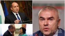 ГОРЕЩА ТЕМА: Марешки скочи на Радев - да не се прави на президент само на БСП и да спре да се среща с хора, които са грабили народа