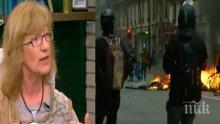 Политолог с тежки думи: Гневът на улицата лиши Макрон от ореола на бога на светлината