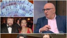 РАЗБИВАЩО: Банкерът Левон Хампарцумян - Банев има нужда от психиатър, който да го вкара в реалностите