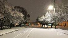 Над 300 000 без ток и 1300 отменени полета заради снежна буря в САЩ
