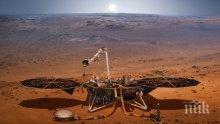 ЗВУЦИ ОТ МАРС: Робот изпрати запис на шума от вятър на Червената планета (ВИДЕО)
