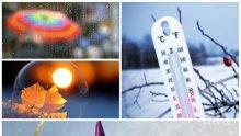 ТОПЛА ЗИМА: Слаб дъжд и слънце ще се редуват днес, температурите ще стигнат до 10 градуса