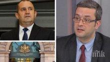 САМО В ПИК! Тома Биков с разбиващ коментар след изявлението на президента Радев: Не може един държавен глава да се държи като фен на БСП и Корнелия Нинова