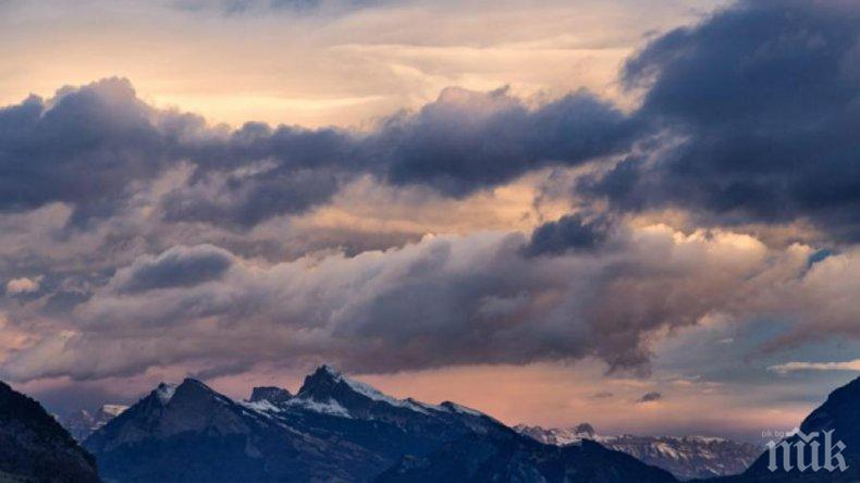 СЕДМИЦАТА ЗАПОЧВА ВЕТРОВИТО: Очаква ни хладен понеделник, но с температури над нулата
