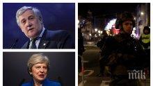 Политическият елит на Европа скърби за жертвите на атентата в Страсбург