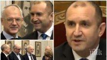 ИЗВЪНРЕДНО В ПИК TV: Румен Радев продължава с политическите совалки - среща се с работодателите (ОБНОВЕНА/СНИМКИ)