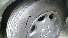 Борба за паркиране в Пловдив, жена изплака: Пукат гумите с шило!