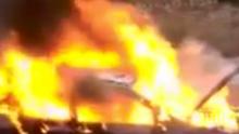 Запали се жп гарата в кюстендилско село