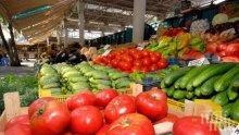 БАБХ провери 198 обекта за плодове и зеленчуци