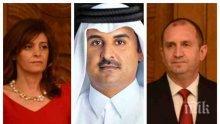 САМО В ПИК: Ето я скандалната афера с рушвети от емира на Катар в президентството - полковници от НСО прибрали евро и ролекси, Румен Радев крил половин година за подкупите