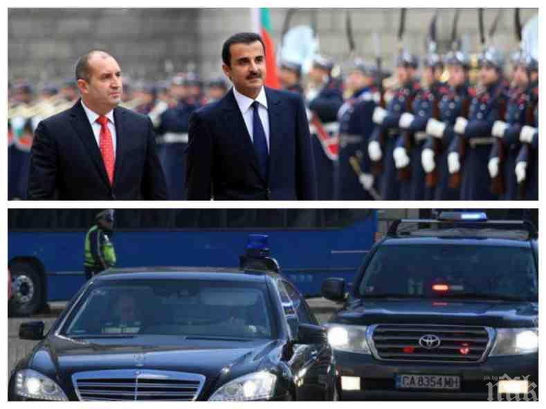 ПЪРВО В ПИК: НСО и президентството проговориха за скандала с рушвети и ролекси от емира на Катар