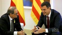 Премиерът на Испания очаква разрешаването на кризата в Каталуния да отнеме години