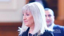 Министър Аврамова: ТОЛ полицията ще следи само за платени пътни такси