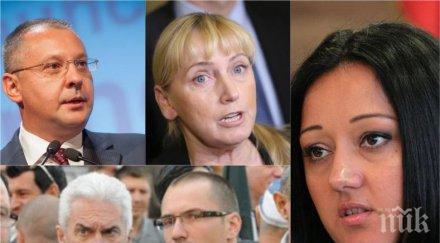ПОЛИТИЧЕСКА ИНТРИГА: Лиляна Павлова става евродепутат, Станишев се изправя срещу Йончева