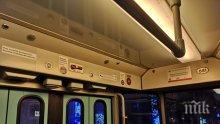 САМО В ПИК: Трамвай пътува със занитена аварийна спирачка! Ами ако стане инцидент... (СНИМКИ)