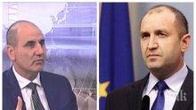 Цветан Цветанов с остър коментар срещу Радев: През цялата година се държеше като ментор и президент на БСП