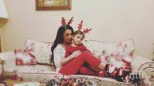 Дядо Коледа зарадва с невероятен подарък сина на Емануела (СНИМКИ)