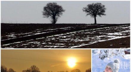 КАПРИЗНО ВРЕМЕ: Студ, облаци и малко слънце се редуват днес