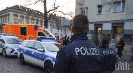 В Германия арестуваха сириец по подозрение за готвен атентат