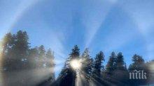 Уникален феномен в Банско, скиорите снимат като невидели