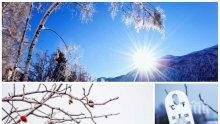 ТОПЛА ЗИМА: Изпращаме 2018 г. с положителни температури и слаби валежи от сняг