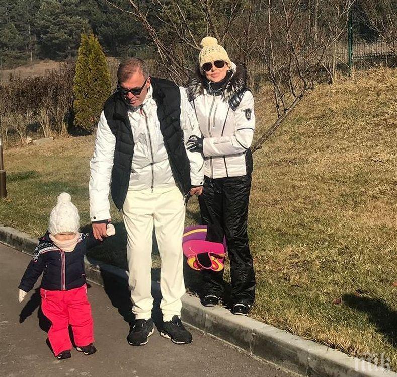 Наско Сираков глези внучка си на спа (СНИМКИ)