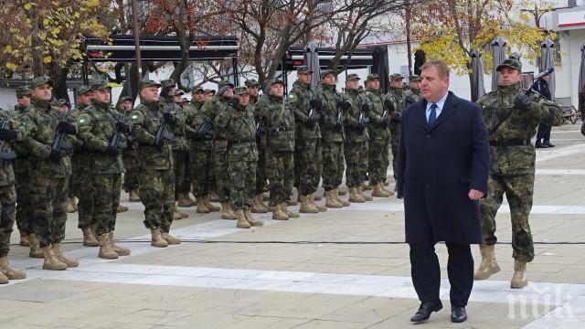 ОТ ПОСЛЕДНИТЕ МИНУТИ - Каракачанов с важен коментар за мисията ни в Афганистан: Нямаме работа там, ако САЩ се изтеглят