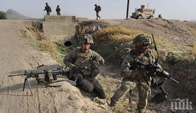 САЩ съкращават наполовина военното си присъствие в Афганистан