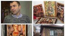 ЕКСКЛУЗИВНО: Проговори собственикът на откраднатите картини на Майстора - обирджиите оставили най-ценните творби