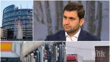 ГОРЕЩА ТЕМА: Евродепутатът Андрей Новаков: Лобистки интереси удрят превозвачите ни. Няма да вдигнем бялото знаме!