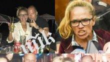 Десислава Иванчева зарязана от мъжа си, Пеньо избягал малко след ареста
