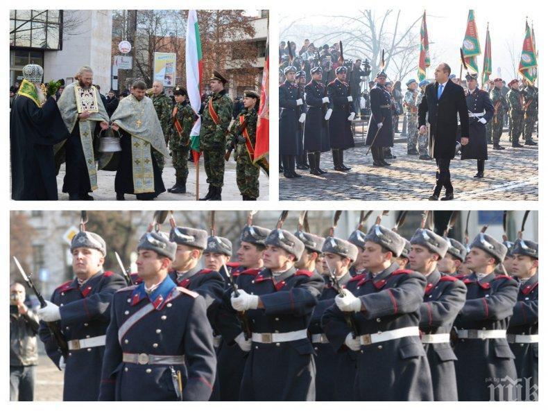 ИЗВЪНРЕДНО В ПИК TV: Освещават бойните знамена на Йордановден - Радев пак политиканства на празника (СНИМКИ/ОБНОВЕНА)