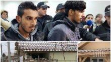 """НАГЛОСТ: Циганите биячи от Войводиново вдигнали две незаконни къщи, въргаляли се на спалня """"Версаче"""" (СНИМКИ)"""