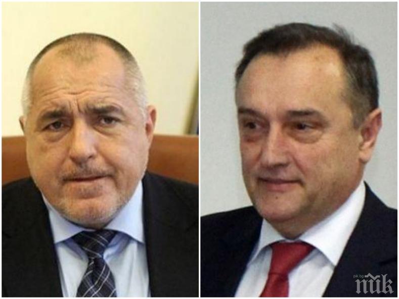 ПЪРВО В ПИК: Борисов взе главата на шефа на АПИ