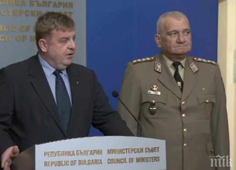 ПЪРВО В ПИК TV: Вицепремиерът Каракачанов: Започваме преговори със САЩ за Ф-16 (ОБНОВЕНА)