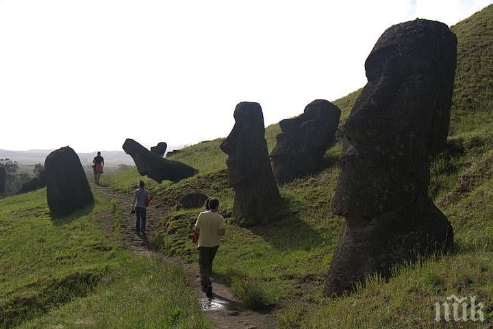 МИСТЕРИЯТА РАЗКРИТА: Разгадаха тайната на Великденските острови