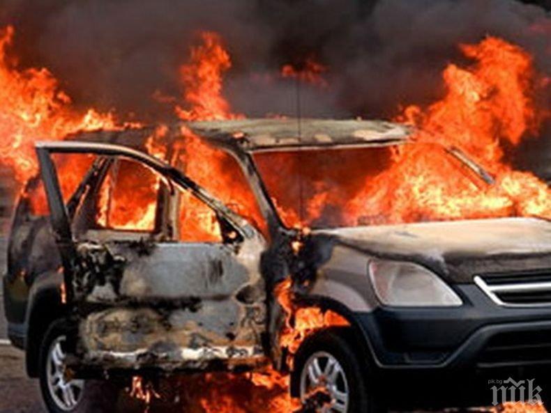Неизправна газова уредба взриви кола в Пловдивско