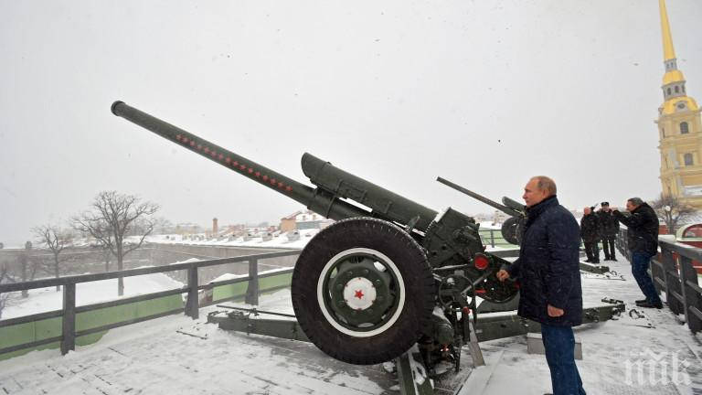 Путин разкри кога е станал шпионин и артилерист (ВИДЕО)