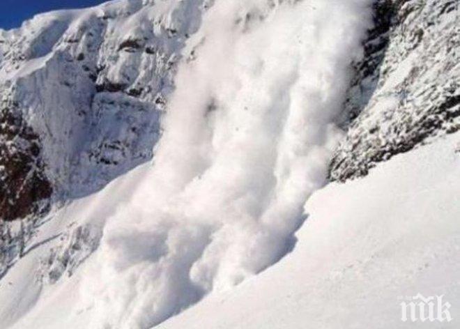 ОГРОМНА ТРАГЕДИЯ: Лавина уби двама сноубордисти (ОБНОВЕНА)