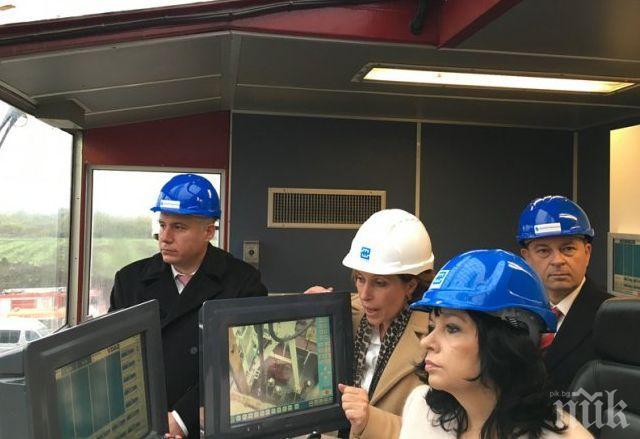 Разширението на газовото хранилище в Чирен готово през 2024 г.