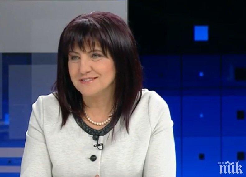 ПЪРВО В ПИК: Цвета Караянчева отново на крака - шефката на парламента обяви край на болежките