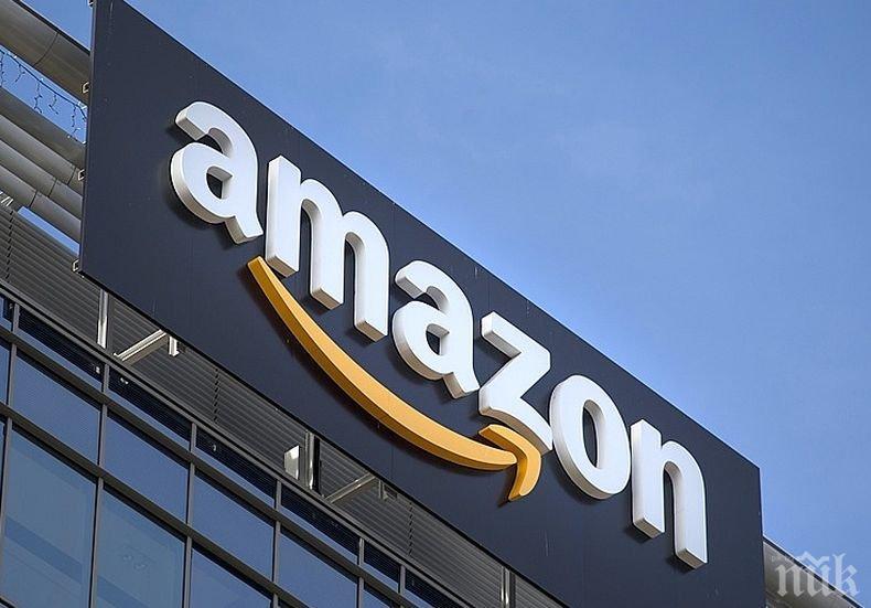 """""""Амазон"""" стана най-скъпата компания на борсата"""