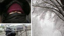 ОПАСНО ВРЕМЕ: Голям студ и жълт код за силен вятър в цялата страна за днес (КАРТА)