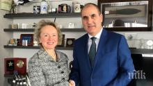 Цветан Цветанов се срещна с посланика на Австрия Н. Пр. Андреа Вике