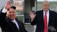 Доналд Тръмп с послание към лидера на Северна Корея