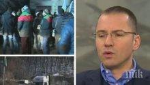 Евродепутатът Ангел Джамбазки изригна: След Войводиново, отиваме и към именията на бароните!