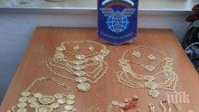 УДАР: Митничари предотвратиха контрабанда на 2 кила злато</p><p>